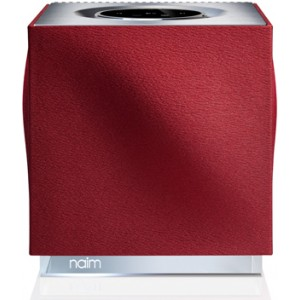 Naim Mu-so Qb Replacement Speaker Grille-Vibrant Red