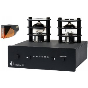 Ortofon 2M Bronze + Pro-Ject Tube Box S2 Package