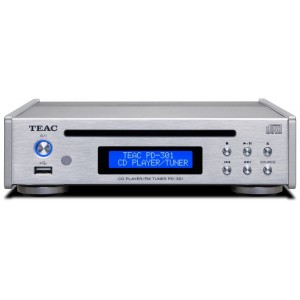 TEAC PD-301DAB-X CD Player Silver