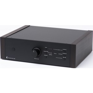 Pro-Ject Phono Box DS2 USB Phono Stage- black with eucalyptus sides