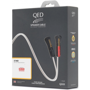 QED XT40i Speaker Cable - Terminated Lengths