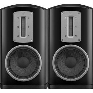 Quad Z-2 Bookshelf HiFi Speaker Pair in Piano Black
