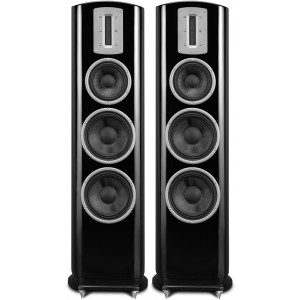 Quad Z-3 Floorstanding HiFi Speaker Black