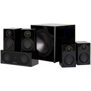 Monitor Audio Radius 90HT1 5.1 Speaker Package Black