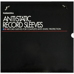 Nagaoka Anti Static LP Inner Sleeves 50 Pack