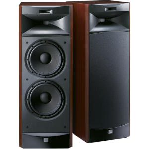 JBL S3900 Speakers Cherry Wood