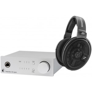 Sennheiser HD660S Headphones + Pro-Ject Head Box S2 Digital Package