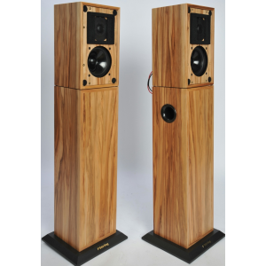 Stirling Broadcast AB-2 pair with LS3/5a No Grilles