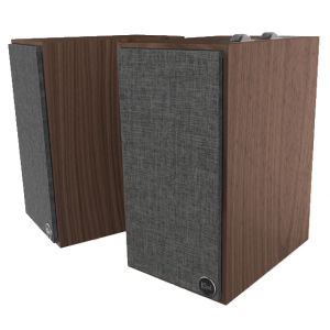 Klipsch The Fives Active Speakers Walnut