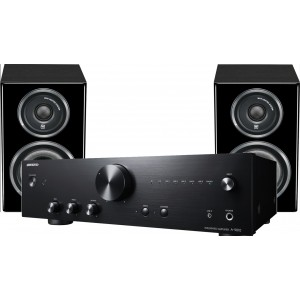 Onkyo A9010 + Wharfedale Diamond 11.0 Black Hi-Fi System Package