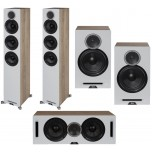 Elac Debut Reference DFR52 5.0 Speaker Package White