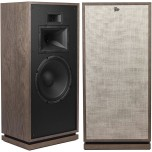 Klipsch Heritage Forte III Speakers Distressed Oak