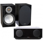 HiFi Package 03 - Cyrus One HD + Monitor Audio Silver 100