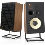 JBL L100 Classic speakers with black grille option