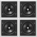 KEF Ci130QS In Wall / In Ceiling Speaker (4 Pack)