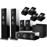 KEF R7 5.1 Speaker Package + R8A for Atmos