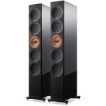 KEF The Reference 5 speakers copper aluminium black