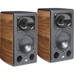 Unison Research Max Mini Speakers (Pair) Walnut