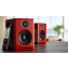 Audioengine A2+ Active Speakers (Pair) Red Wireless Lifestyle