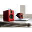 Audioengine A2+ Wireless Active Speakers (Pair) Red Lifestyle