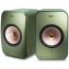 KEF LSX Wireless Speakers Olive Green