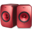 KEF LSX Wireless Speakers Red