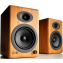 Audioengine A5+ Wireless Active Speakers (Pair) Bamboo