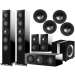 KEF R11 5.1 Speaker Package + Ci200RR for Atmos